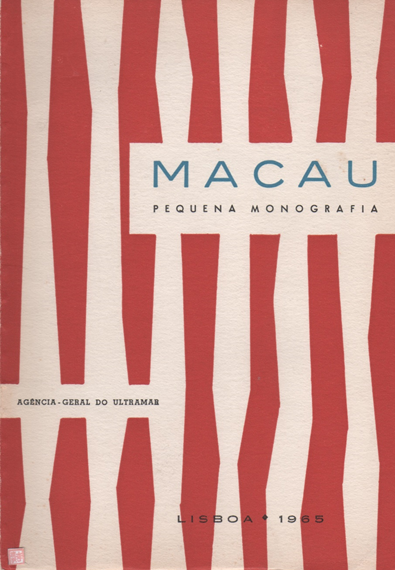 MACAU pequena monografia 1965 CAPA