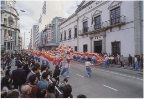 Dança Dragão 1985