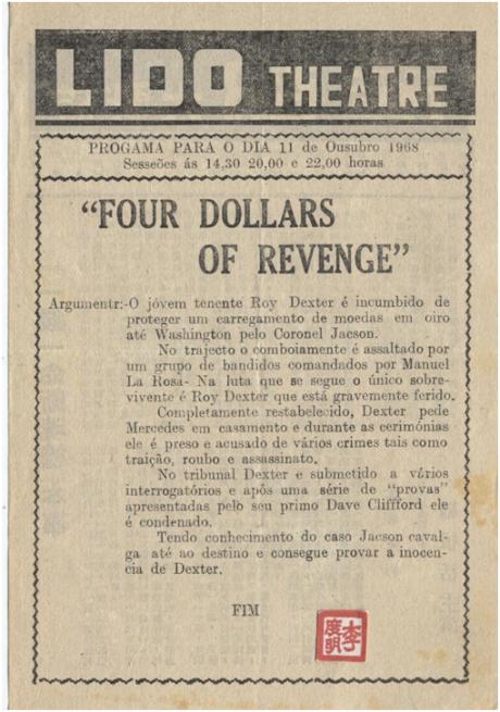 Four Dollars of Revenge português