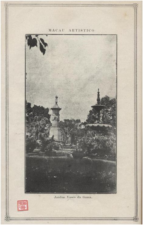 MACAU e o seu porto - Jardim Vasco da Gama