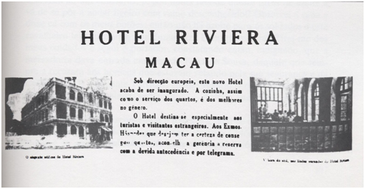 Hotel Riviera 1945