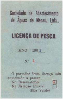 Licença pesca II
