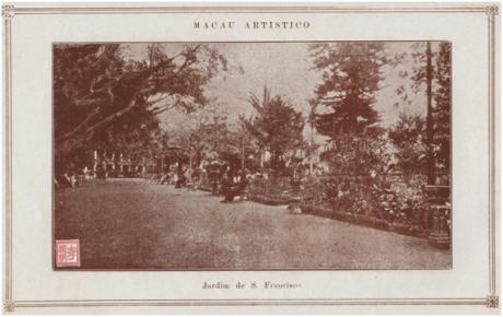 MACAU e o seu porto - Jardim S. Francisco