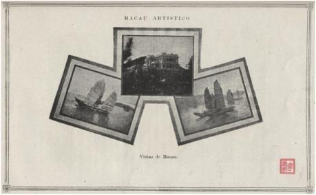 MACAU e o seu porto - Vistas de Macau