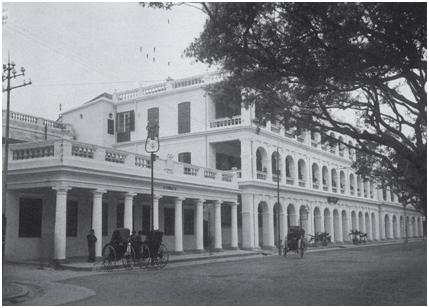 Correios de Macau- 1909