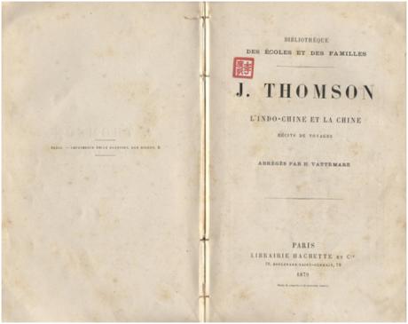 L´Indo Chine et la Chine J THOMSON 1.ªs páginas