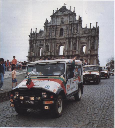 MACAU 9 1988 raid terrestre I