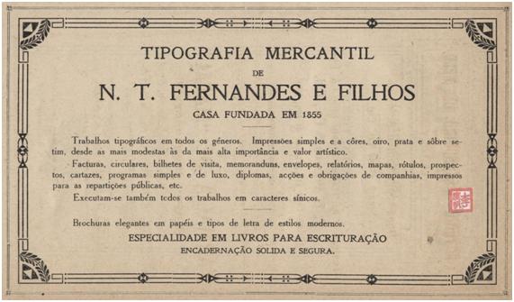 Tipografia N. T. Fernandes I