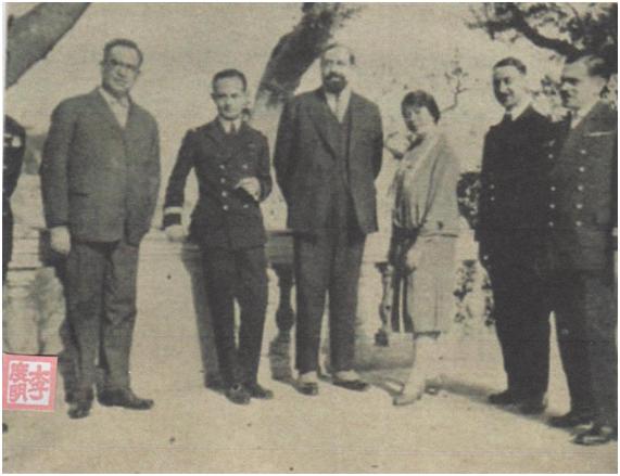 Ilustração 1929 Visita Avião Francês II