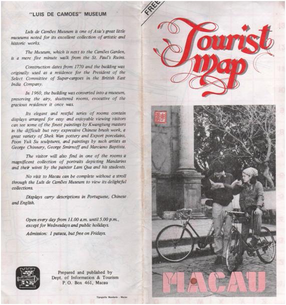 Mapa Turístico década 80 II