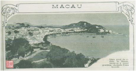 Ilustração portuguesa n.º 663 1918 - MACAU I