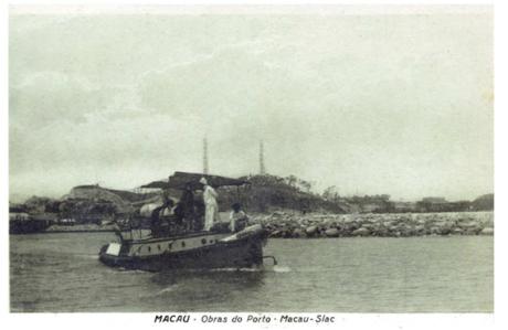 Obras porto de Macau (1923)