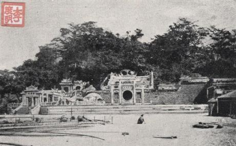 Postal Templo A MA 1910