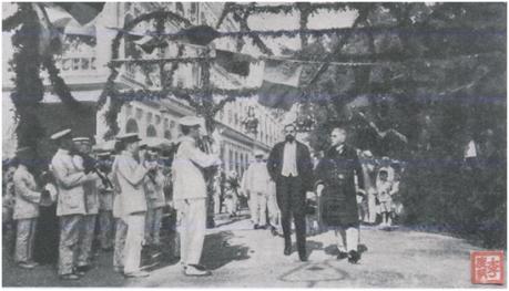 Desembarque Governador Tamagnini Barbosa 12-10-1918 II