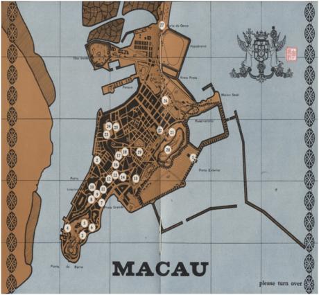 The Garden City of the Orient - MAPA TURÍSTICO