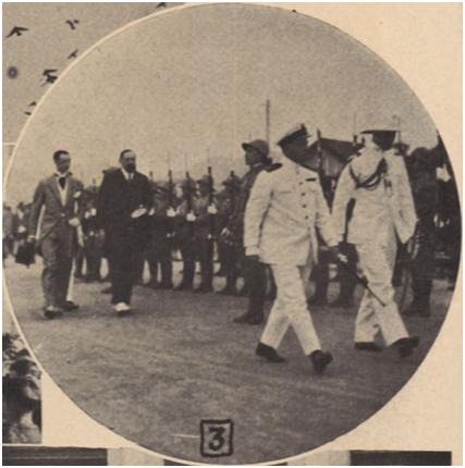 Visita de João Bianchi ILUSTRAÇÃO 1928