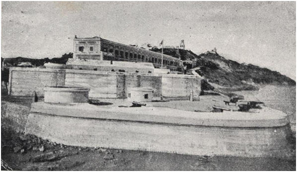 Bateria e Quartel S. Francisco 1910