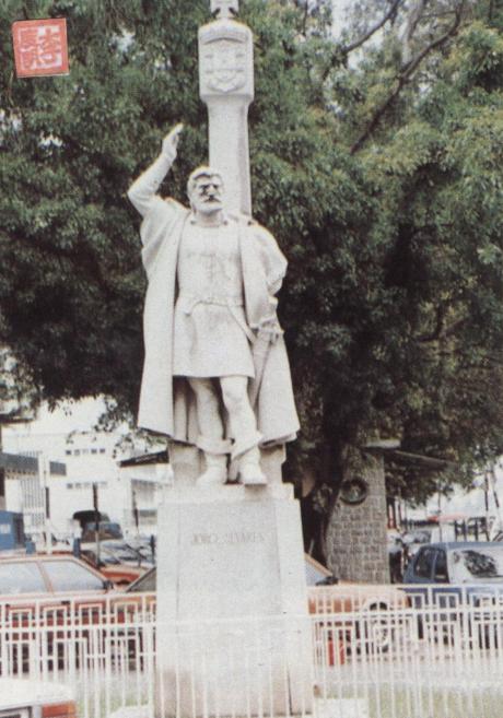 MONUMENTO Joge Alvares 1980