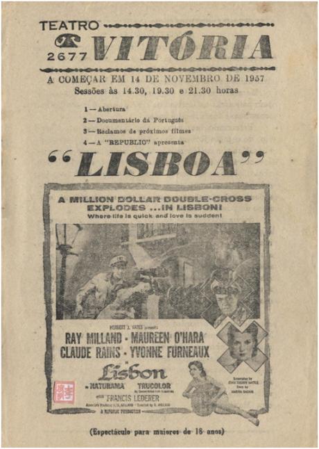 Teatro Vitória - LISBON I