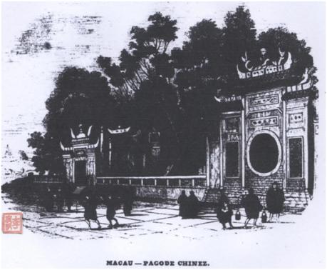 Templo de Á Má O Panorama