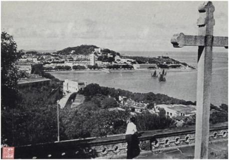 Vista da Baía da Praia Grande AGU