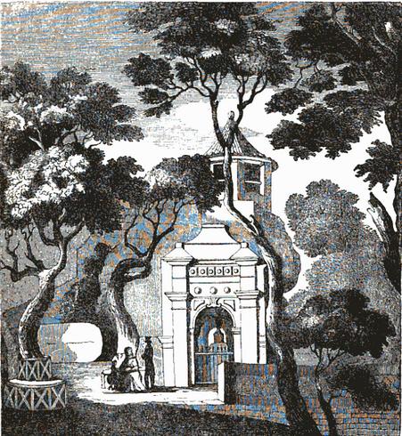 Gruta de Camões J. Caldeira 1857