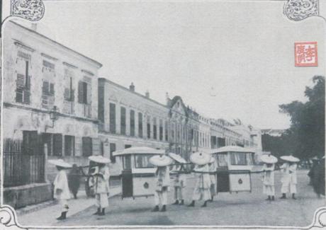 Ilustração Portugueza1908 Macau Cidade de Prazeres Cadeirinhas do Governador