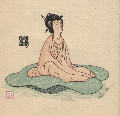 Lin Tchi Fá 1925 - desenho japonesa