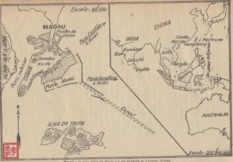 Mapa de Macau e Arredores 1929 (AGC) II