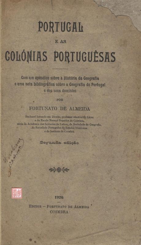 Portugal e as Colónias Portuguesas I