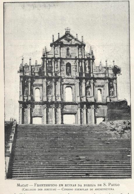 Serões 1902 Ruínas S. Paulo