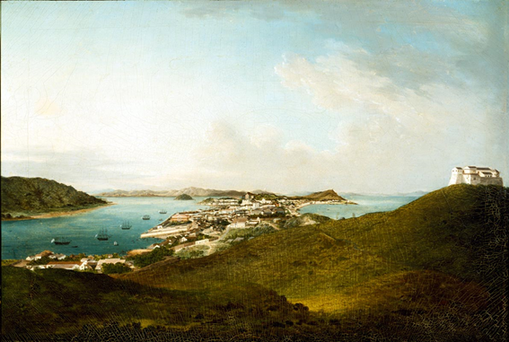 View of Two Bays ca 1830