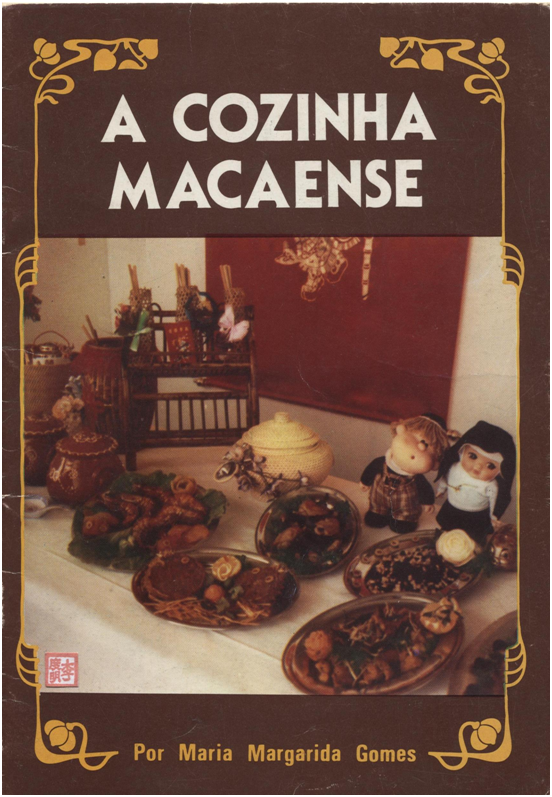 LIVRO A Cozinha Macaense M.M. Gomes CAPA