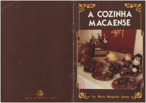 LIVRO A Cozinha Macaense M.M. Gomes CONTRACAPA
