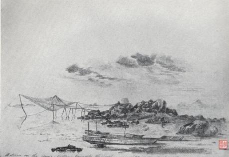 Pintura de 1831-1832 - Cena da Costa