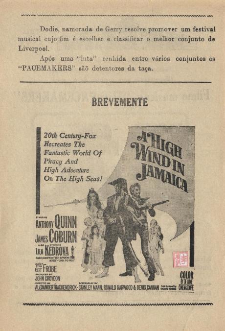 Teatro Nam Van - 1965 - Ferry Croos the Mersey verso