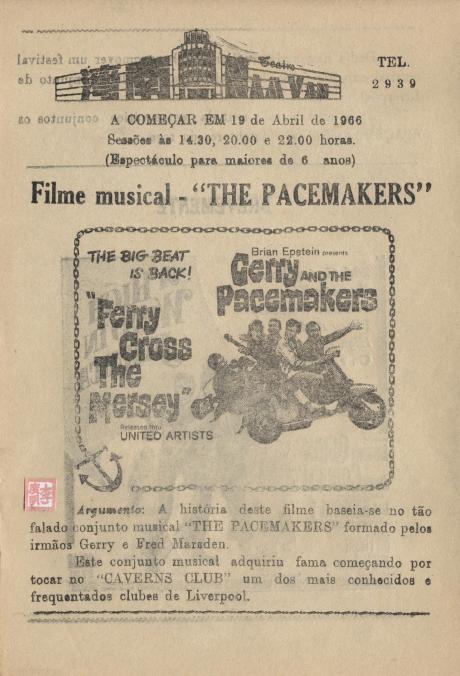 Teatro Nam Van - 1965 - Ferry Croos the Mersey