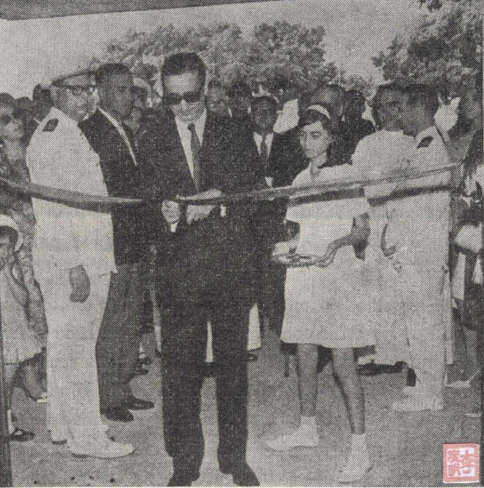 Inauguração Escola Comercial 28MAI1966 I