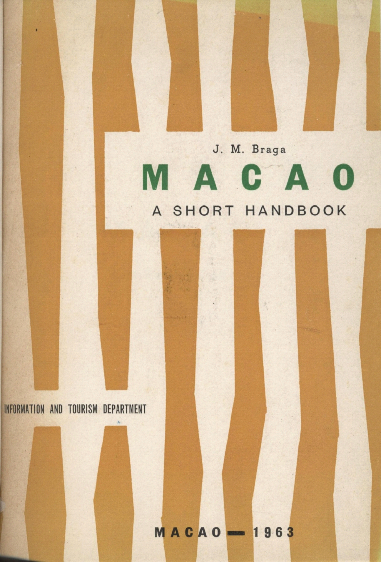 Macau a Short Handbook 1963 CAPA