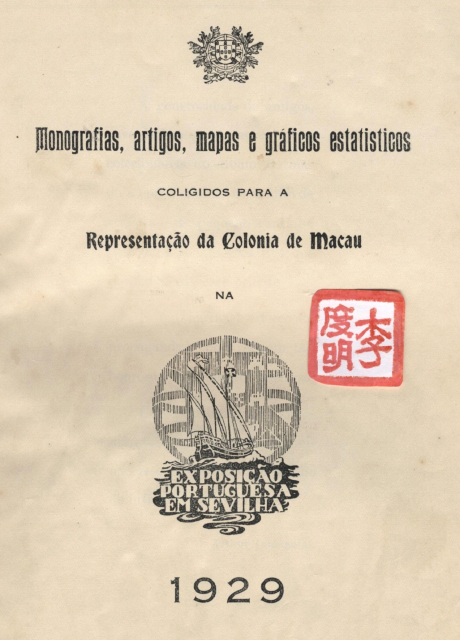 Monografias, Art, Mapas 1.ª Pág 1929