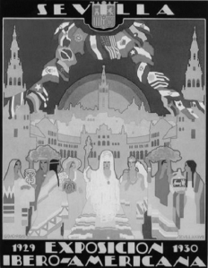 Monografias, Art, Mapas SEVILHA 1929