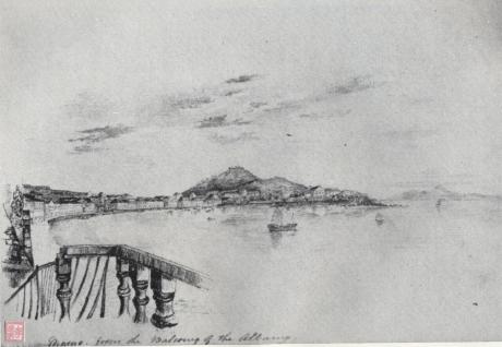 Pintura de 1831-1832 - Praia Grande