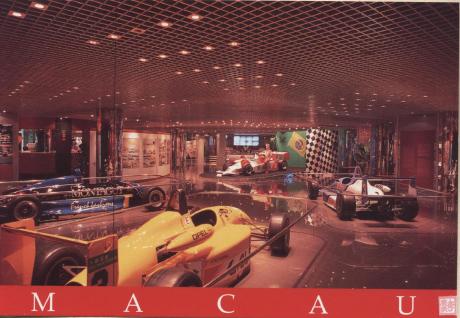 Postal DSTM 1999 Museu Grande Prémio