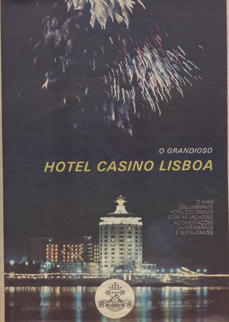 ANÚNCIO - Hotel Casino Lisboa