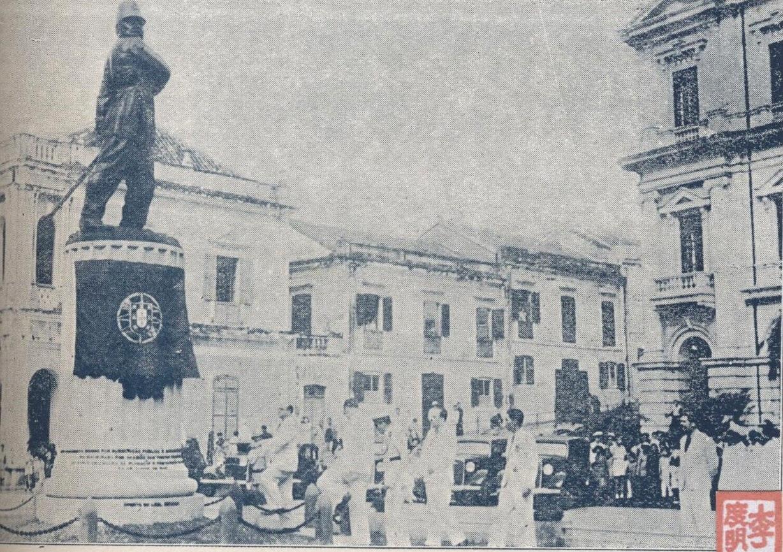 Inauguração Monumento Coronel Mesquita 1940 I