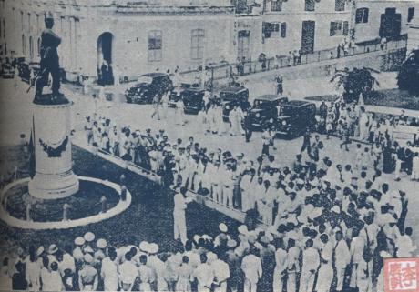 Inauguração Monumento Coronel Mesquita 1940 II