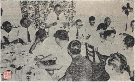 Jantar antigos alunos Liceu 14JUN1956