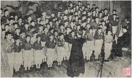 Orfeão da Mocidade Portuguesa 10JUN1956