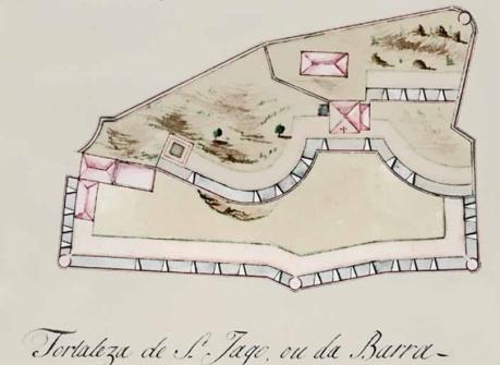 Fortaleza da Barra 1775
