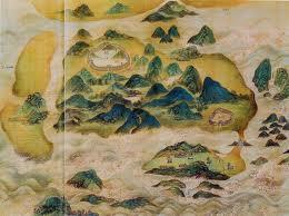 Mapa Macau 1685